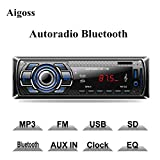 Aigoss autoradio Bluetooth handsfree, 4 x 60W...
